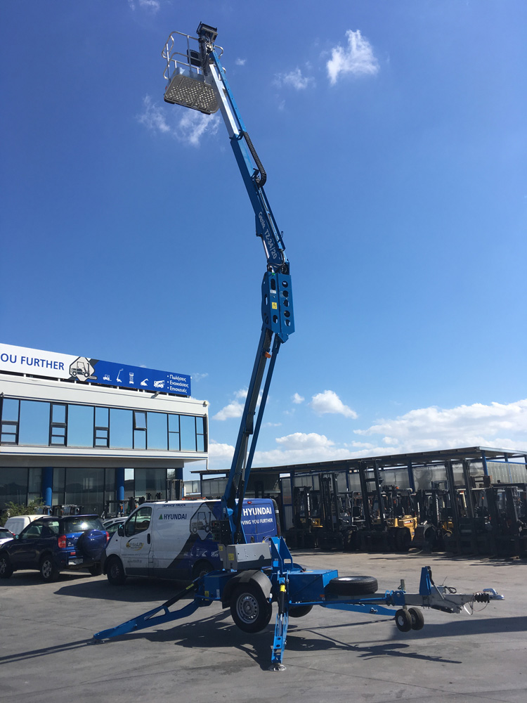 Genie | TZ-34/20 trailer-mounted boom